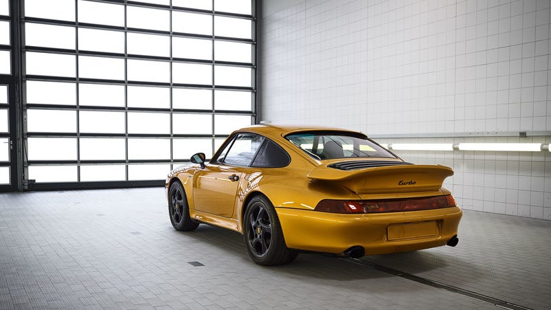 "Illustration for article titled Porsche's 993 Turbo S ""Project Gold"" Sold For A Mind-Boggling $3.1 Million"