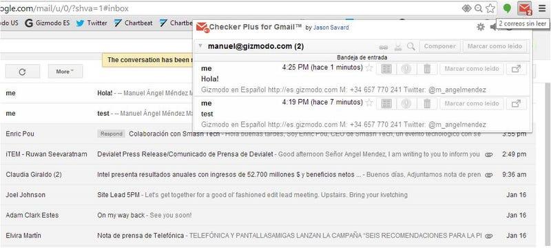 Illustration for article titled Gestiona mucho mejor tu Gmail con esta genial extensión para Chrome
