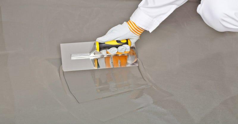 Illustration for article titled El futuro de las pantallas puede estar en el cemento
