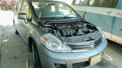 Illustration for article titled 2012 Nissan Versa 1.8L: LKQ Swap