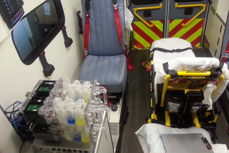 The device can be used in ambulances, for example. Image: Researchers/MIT