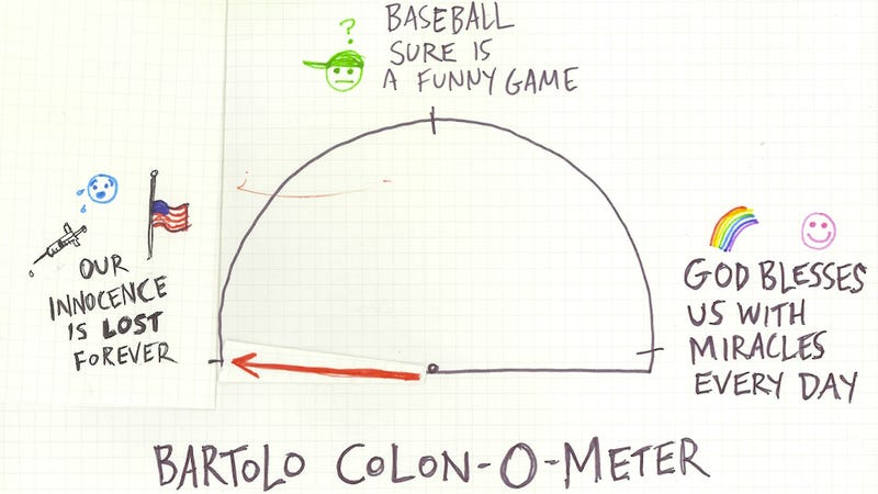 Illustration for article titled Bartolo Colon-O-Meter: Who Will Tell The Children?