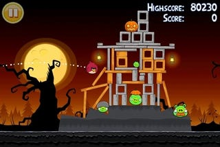Illustration for article titled Review: Angry Birds: Halloween Special Edition