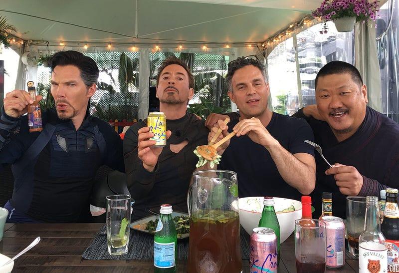 Infinity War tendrá una escena con 32 superhéroes a la vez — Avengers