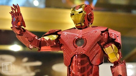 Iron Man's Latest Suit of Armor Makes for an Amazing Action