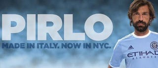 Illustration for article titled Andrea Pirlo Is Getting PAID In MLS