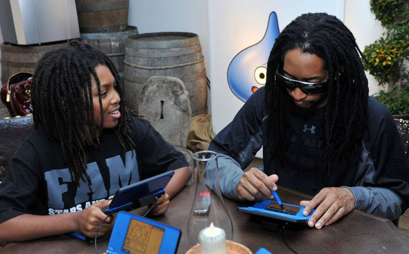 Illustration for article titled What? Lil Jon's A Dragon Quest Fan? Yeeeyeah!