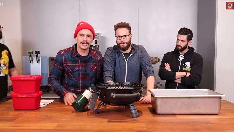 Illustration for article titled Watch Seth Rogen and James Franco make lasagna, talk Freaks And Geeks