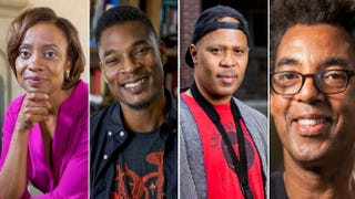 "MacArthur 2014 ""genius"" grant recipients Jennifer Eberhardt, Terrance Hayes, Steve Coleman and Rick LoweCourtesy of the John D. and Catherine T. MacArthur Foundation"