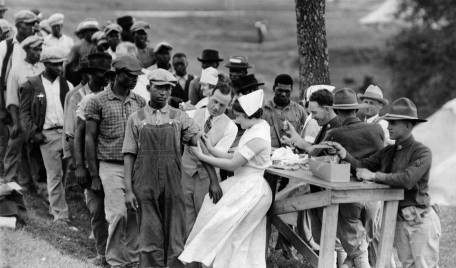 Resultado de imagen para experimento Tuskegee