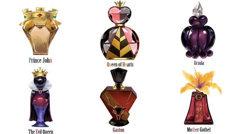 Illustration for article titled Disney Villain Perfume Line is Drop Dead Gorgeous