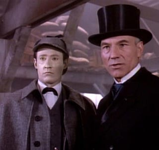 Illustration for article titled The Truth About Star Trek And Sherlock Holmes