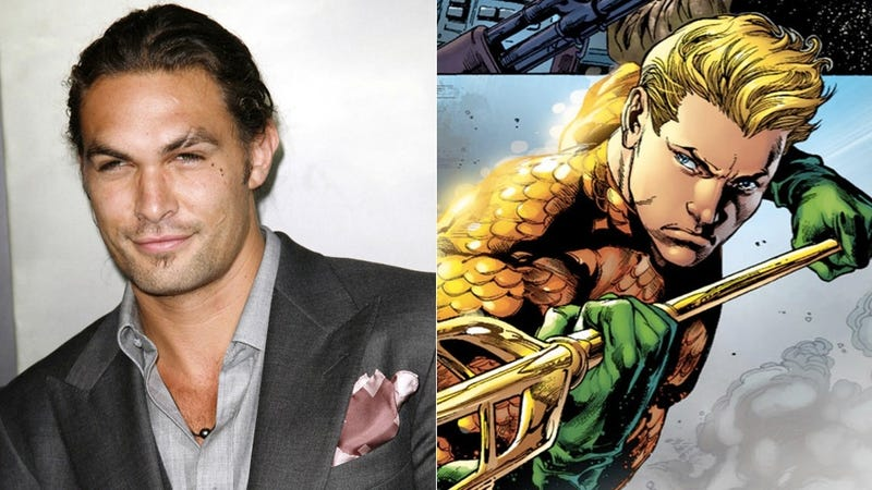 Illustration for article titled Jason Momoa Will Officially Be Aquaman In Batman V. Superman