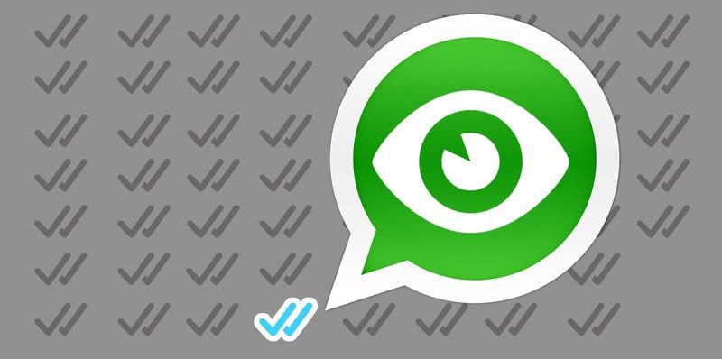Illustration for article titled WhatsApp ya permite desactivar en su beta el doble check azul. ¿Cómo?