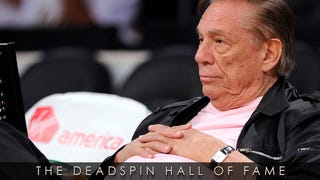 Illustration for article titled 2014 Deadspin Hall Of Fame Nominee: Donald Sterling