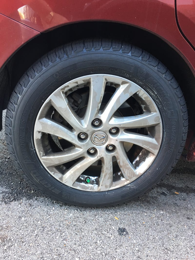 Illustration for article titled I really need to clean my wheels