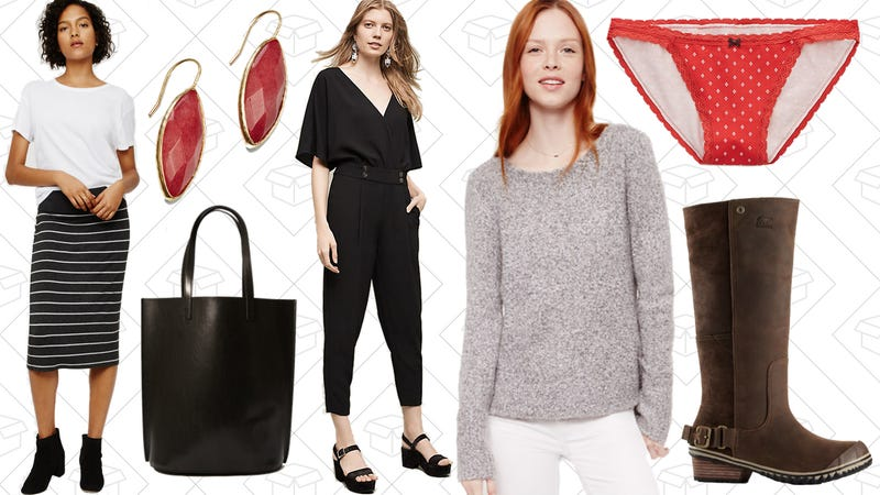Illustration for article titled Today's Best Lifestyle Deals: Anthropologie, Sorel, Aerie, Lou & Grey, LOFT, and More