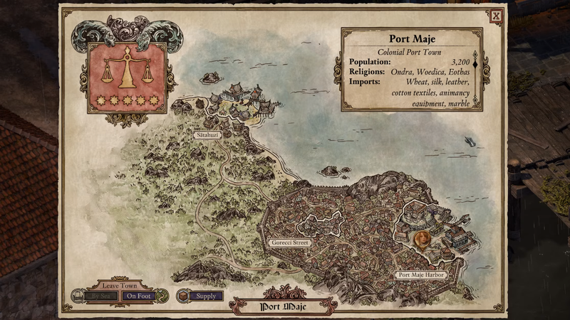 Illustration for article titled Deadfire's Maps Are Really Good