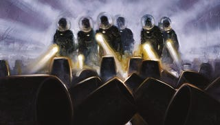 Illustration for article titled Meet The Star Of The Prometheus Sequel Comic