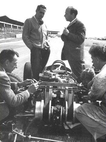 Illustration for article titled Sir Jack Stole the Clutch! Brabham-Daf Formula 3 Car!