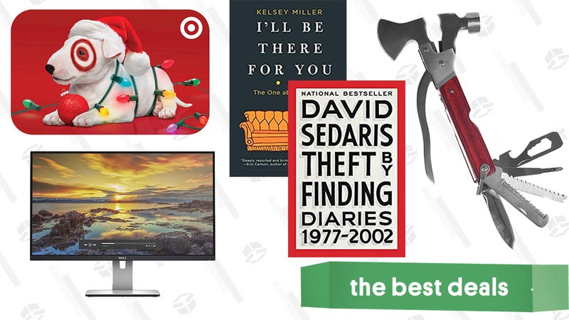 Illustration for article titled Sunday's Best Deals: Target Gift Cards, Giftable Tools, Nonfiction Reads for Kindle, and More