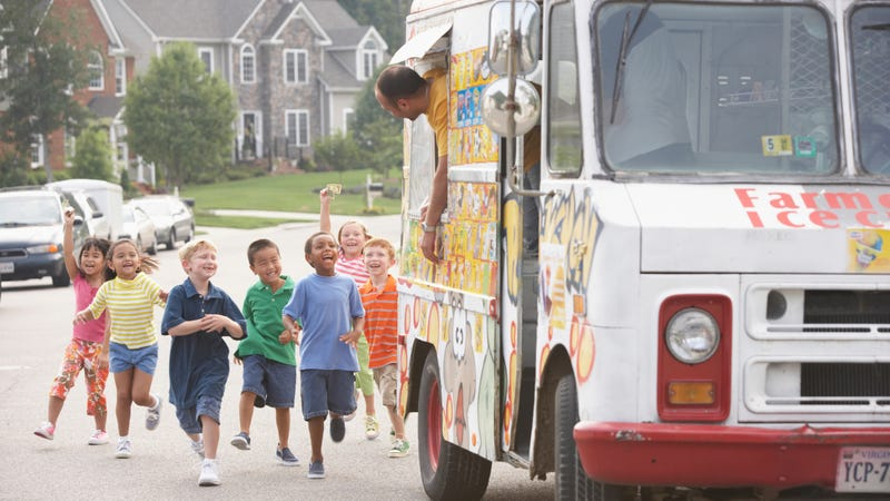 Reasonable facsimile of the ice cream truck's return