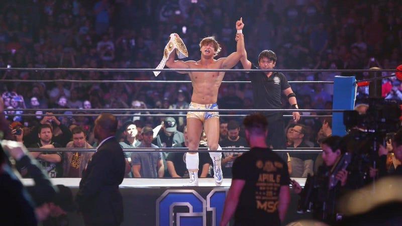 Kota Ibushi is your new IWGP Intercontinental Champion.