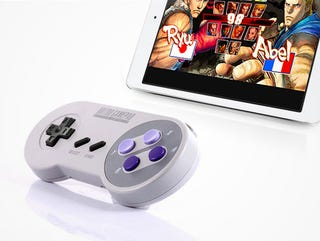 Illustration for article titled Relive The Glory Days With This Retro SNES Bluetooth Controller