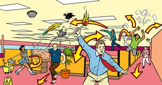Illustration for article titled Friday Is the Perfect Day for an Office Riot