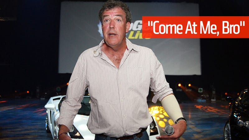 Illustration for article titled Jeremy Clarkson Threatens To Kill American Airlines Over Lost Bag [UPDATE: AA Responds, Clarkson Got His Bag]