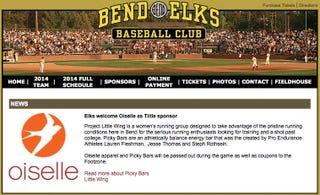 Illustration for article titled Running Apparel Company Oiselle Sponsors Baseball Team