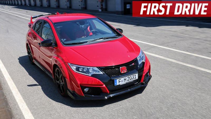 The New Honda Civic Type R Is Now Current Fastest Front Wheel Drive Car Around Nurburgring Its Also Surprisingly Forgiving On Track And
