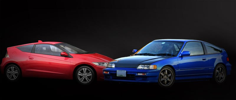Illustration for article titled Don't Believe The Hype: The CR-Z Is Not A New CRX