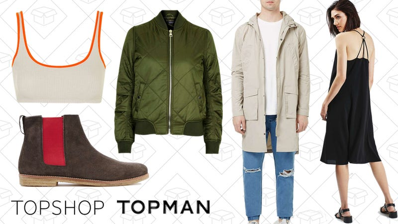 Topshop and Topman, 50% off sale