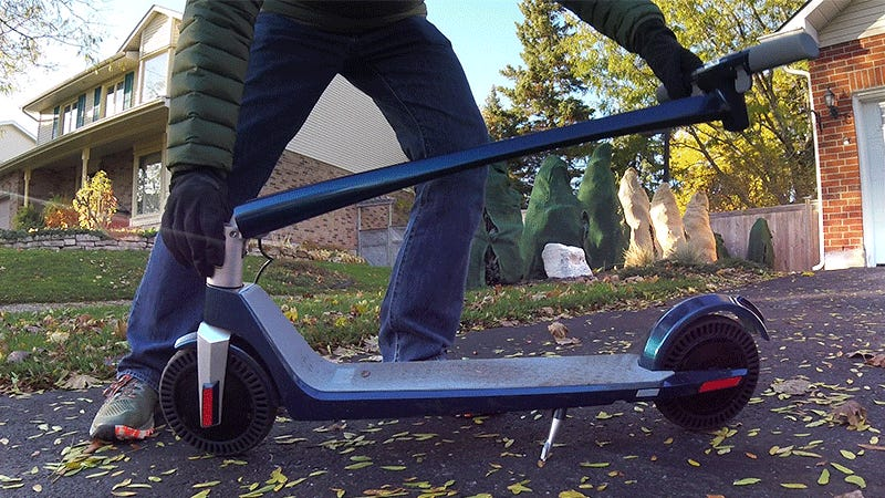 This Electric Scooter For Adults Might Replace My Need For a