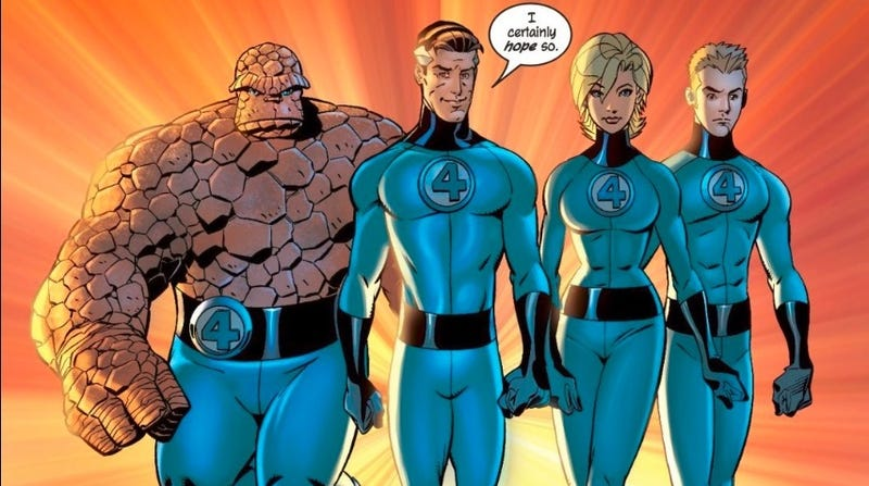 Illustration for article titled Why I Love the Fantastic Four