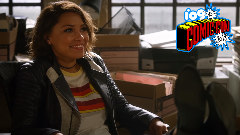 Nora gets settled into her past in The Flash's next season.