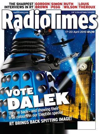 Illustration for article titled Vote For The Daleks!