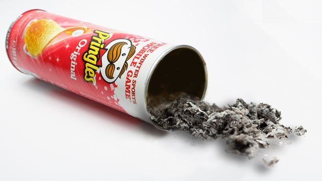 the man who invented pringles cans was buried inside a