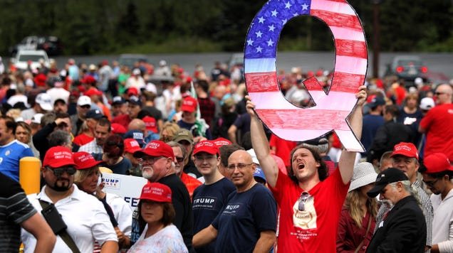 Twitter Cracks Down on Qanon Accounts for Role in Capitol Riot