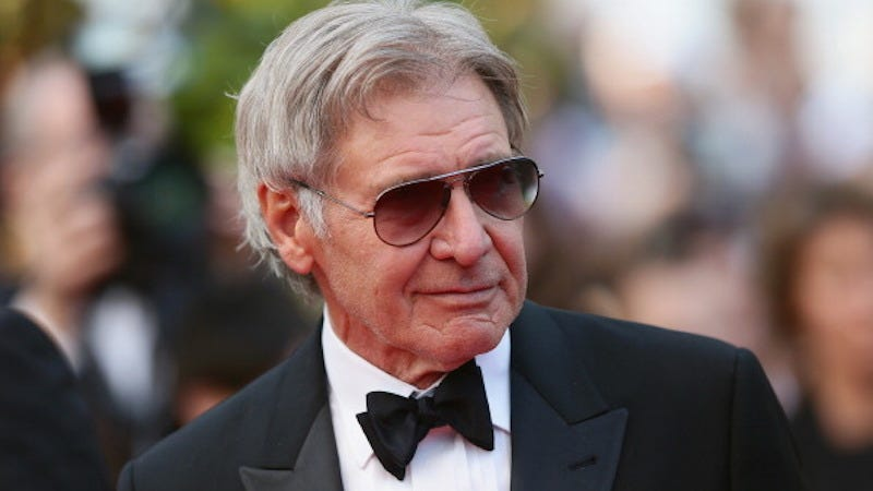 Illustration for article titled Plane Crash Survivor Harrison Ford Is Now Crashing Weddings