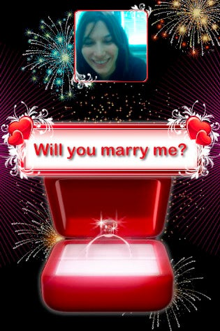Illustration for article titled Proposal iPhone App Lets Someone Propose To Your Future Wife For You