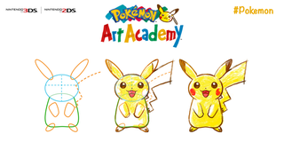 Illustration for article titled Pokemon Art Academy Coming July 4th, Fall for US.