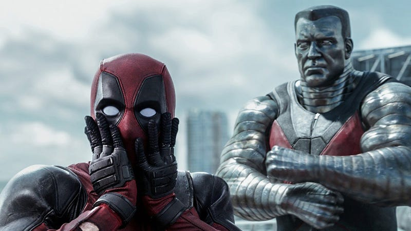 Deadpool was the most torrented movie of 2016. Image: 20th Century Fox