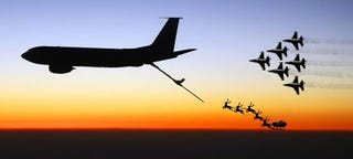 Illustration for article titled This USAF Thunderbirds Style Night Before Christmas Poem Is Brilliant!