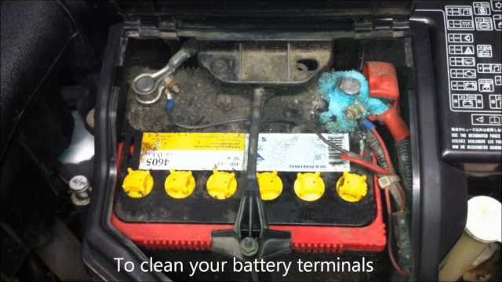 Clean Corroded Car Battery Terminals With Coca Cola