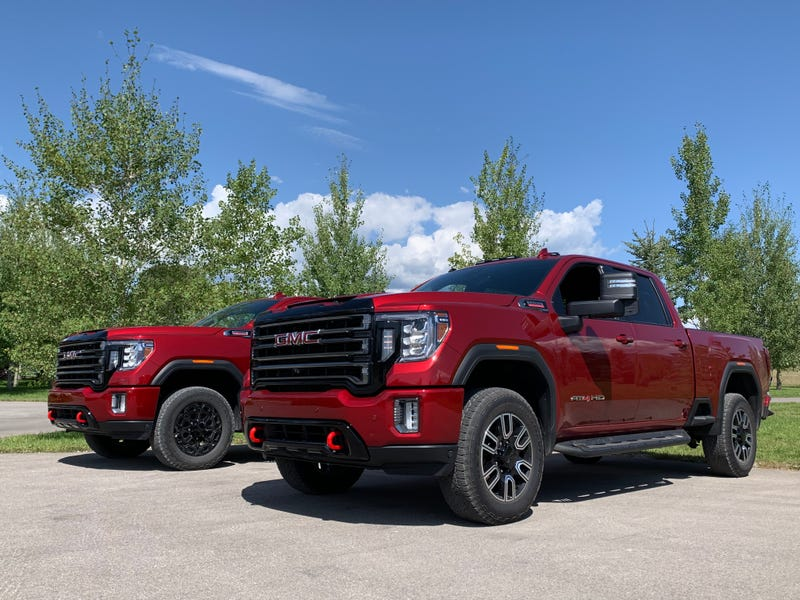 The 2020 Gmc Sierra Hd Is A Monstrous High Tech Workhorse