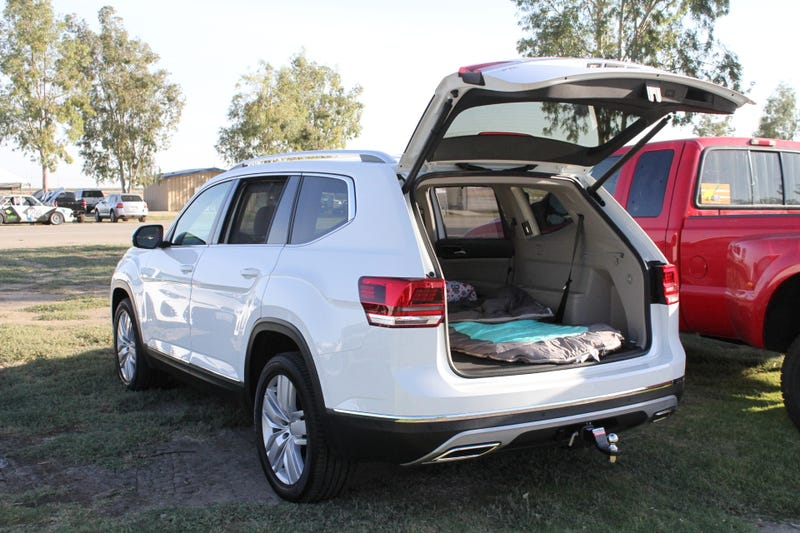 I Slept In A Volkswagen Atlas And It Was Better Than Most Tents