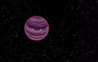 Illustration for article titled Astrónomos confirman la existencia de un planeta errante sin estrella