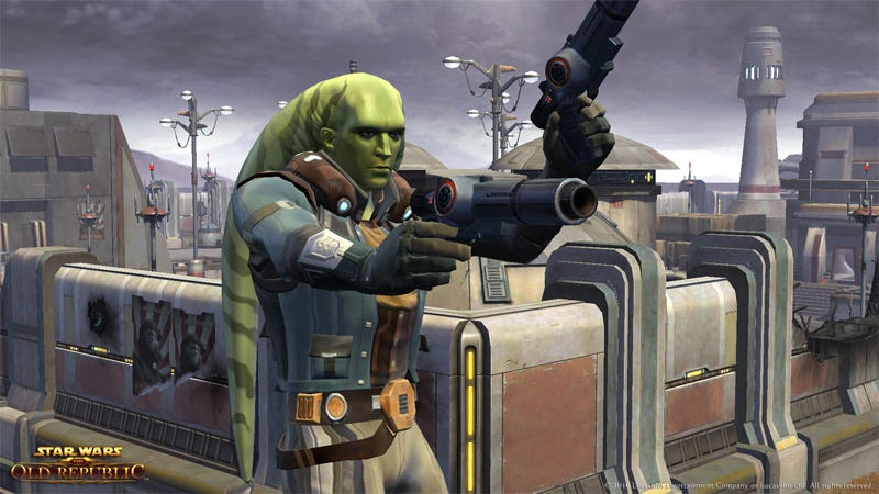 Illustration for article titled Smuggling Myself Into The Old Republic